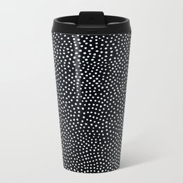 Guinea Fowl Print Metal Travel Mug