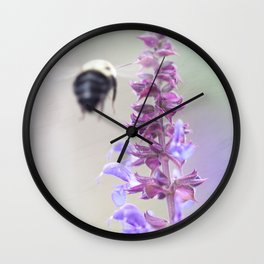 Purple and Bumble, 2 Wall Clock