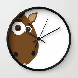 Cartoon Horse Wall Clock
