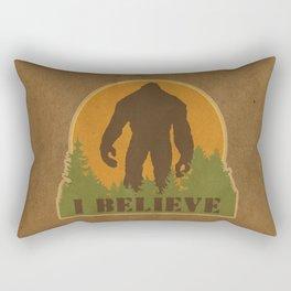 Bigfoot - I believe Rectangular Pillow