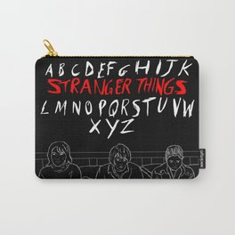 Stranger Things - Joyce, Jonathan, Nancy Carry-All Pouch