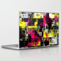 contemporary Laptop & iPad Skins featuring Contemporary Geometric by Idle Amusement