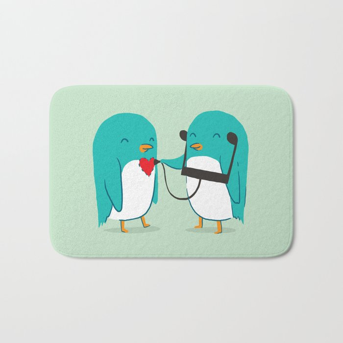 The sound of love Bath Mat