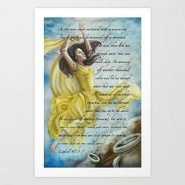 Dancing Glory Art Print
