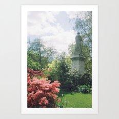 Southampton Palmerston Park, Statue Art Print