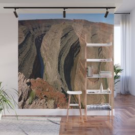 The Goosnecks - A Meander Of The San Juan River Wall Mural