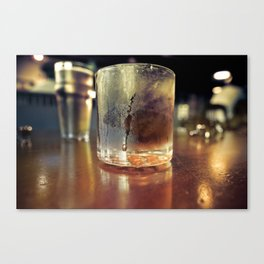 A Father's Drink Canvas Print