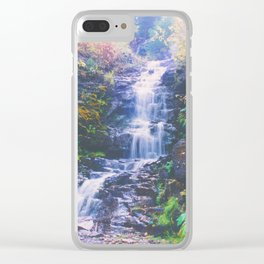 Cascading Stream - Autumn Colors in Vail, Colorado Clear iPhone Case