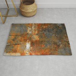 Rust Texture 72 Rug