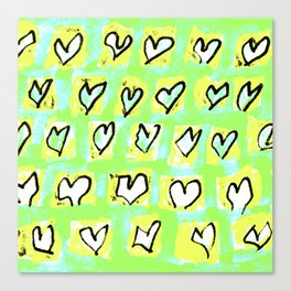 Flying Hearts ~ Change of Heart Canvas Print