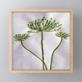 Fennel Framed Mini Art Print