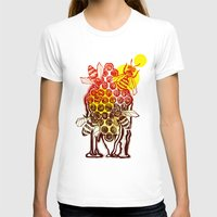 honeycomb T-shirts featuring The Honeycomb by minniemorrisart