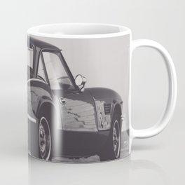 Supercar details, british triumph spitfire, black & white, high quality fine art print, classic car Coffee Mug