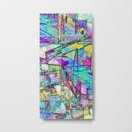 Cubic Vista Metal Print