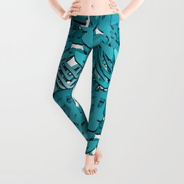 INTERLUDE Abstract Graffiti Leggings