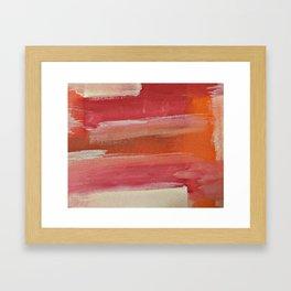 Pink Mirage Framed Art Print