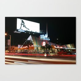 Mel's Drive in (LA) Canvas Print