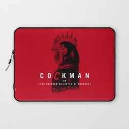 Cockman or The Unexpected Virtue of Madness Laptop Sleeve