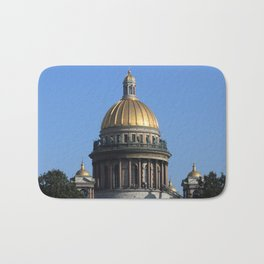 The dome of St. Isaac's Cathedral. Bath Mat