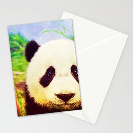Panda - for iphone Stationery Cards