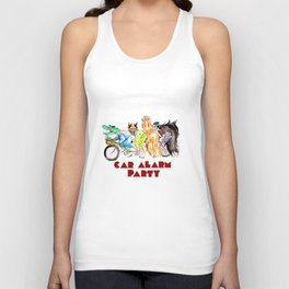 Car Alarm Party: Learners permit official tshirt Unisex Tank Top
