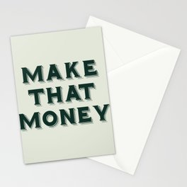 Make That Money - Motivate Stationery Cards