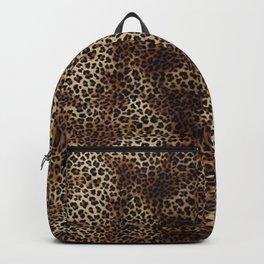 Leopard Skin Backpack