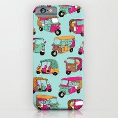 India rickshaw illustration pattern Slim Case iPhone 6