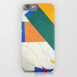 Memory of Oceania - Henri Matisse iPhone Case
