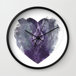 Verronica Kirei's Vulva Valentine Wall Clock
