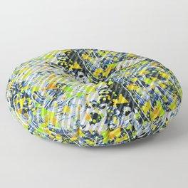 Splatter Slant Floor Pillow