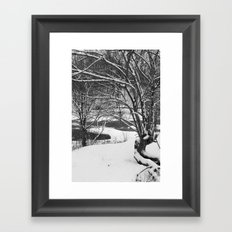 snowday # 1 Framed Art Print