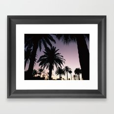 The Palms Framed Art Print