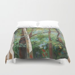 Discover Peace Duvet Cover