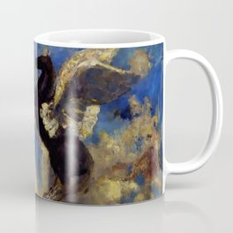 "Odilon Redon ""The Black Pegasus"" Coffee Mug"