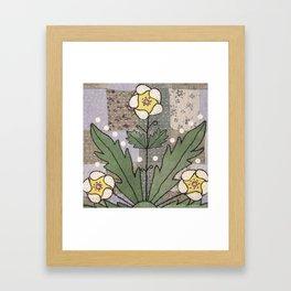 Woodland Flowers 4 Framed Art Print