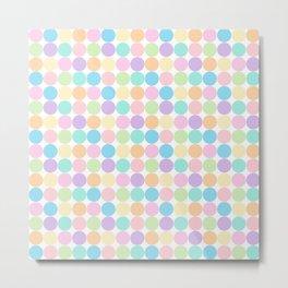 Colourful Dots Metal Print