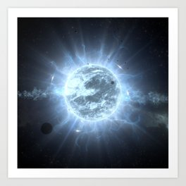 Super Giant Star Art Print