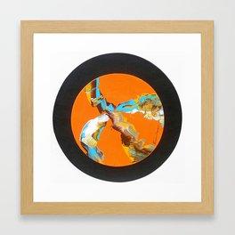 Waves & Wind Framed Art Print