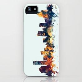 Grand Rapids Michigan Skyline iPhone Case
