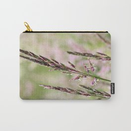 Pink Grass Abstract Carry-All Pouch