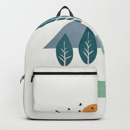 Minimalist Landscape Art I Backpack