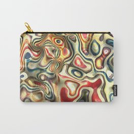 Abstract background pattern art Carry-All Pouch
