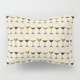 Vintage Wine Glasses Pillow Sham