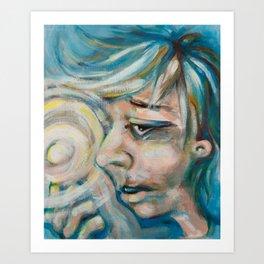 The Magic Finger Art Print