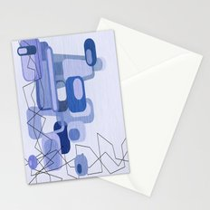 Feeling Blue. Stationery Cards