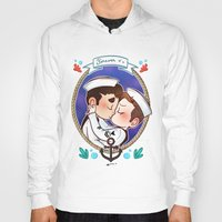 glee Hoodies featuring Sailor by Sunshunes