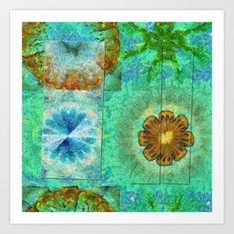 Superinstitute Open Flower  ID:16165-114222-70591 Art Print