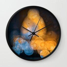 Acrylic Bokeh Capitol Wall Clock
