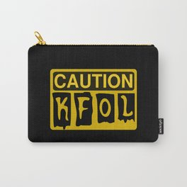 CAUTION KFOL KID FAN OF LEGO by Chillee Wilson [from Customize My Minifig] Carry-All Pouch